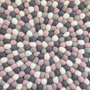 Børnetæppe i pink fra Una LIVING